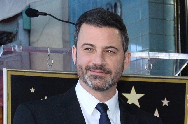 Jimmy Kimmel discusses why he decided to revive All in the Family and The Jeffersons for one night in a new interview. File Photo by Jim Ruymen/UPI
