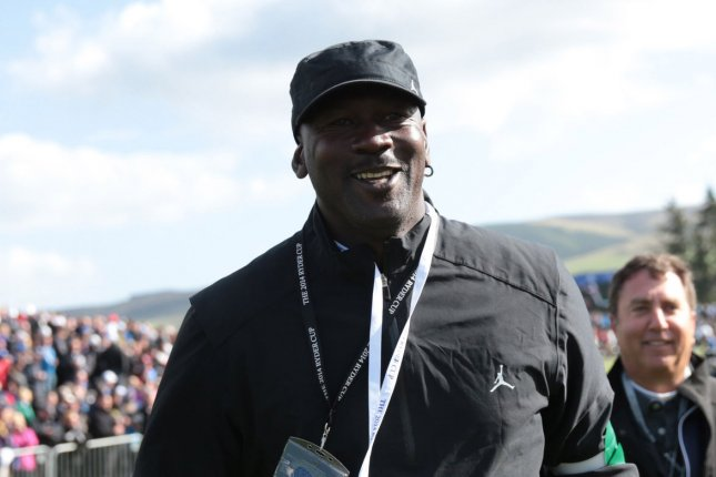 NBA legend Michael Jordan's pledge came hours after Nike announced its own Commitment to the Black Community initiative, an additional $40 million pledge to communities from the Nike, Jordan and Converse brands over the next four years. File Photo by Hugo Philpott/UPI