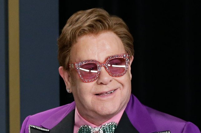 Elton John and Dua Lipa released a single and animated video for the song Cold Heart (The Blessed Madonna Remix). File Photo by John Angelillo/UPI