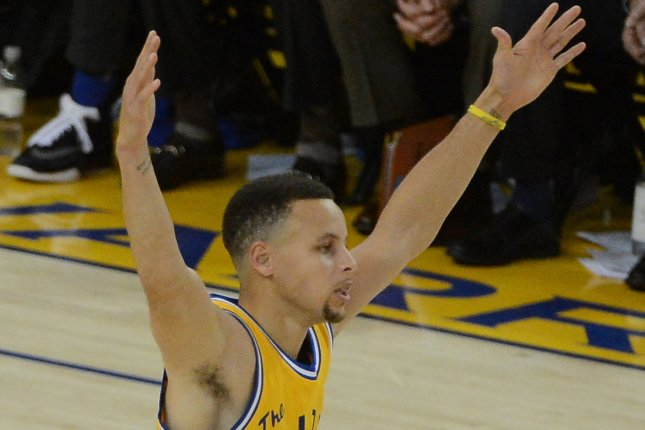 a104640314d Golden State Warriors and Stephen Curry set the franchise wins record by  holding off the Utah Jazz in overtime. File photo by Terry Schmitt UPI