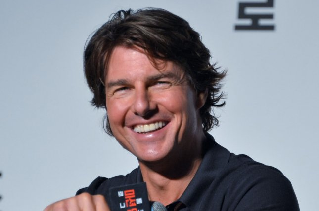 Tom Cruise at a Mission: Impossible - Rogue Nation press conference in Seoul on July 30, 2015. File Photo by Keizo Mori/UPI