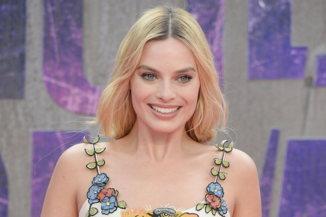 Margot Robbie attends the premiere of Suicide Squad on August 3. Robbie is set to team up with Suicide Squad director David Ayer for another DC Comics film starring Harley Quinn titled Gotham City Sirens. File Photo by Rune Hellestad/ UPI
