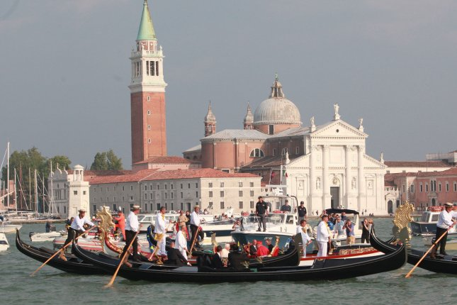 Venetian officials said the day-tripper tax will go toward paying to clean up after tourists. File Photo by Stefano Spaziani/UPI