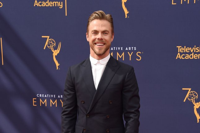 Television personality Derek Hough is to co-host the Macy's 4th of July Fireworks Spectacular. File Photo by Gregg DeGuire/UPI