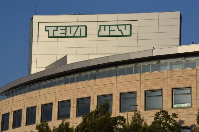 A production facility for Israeli pharmaceutical company Teva is seen Monday in Jerusalem. Photo by Debbie Hill/UPI