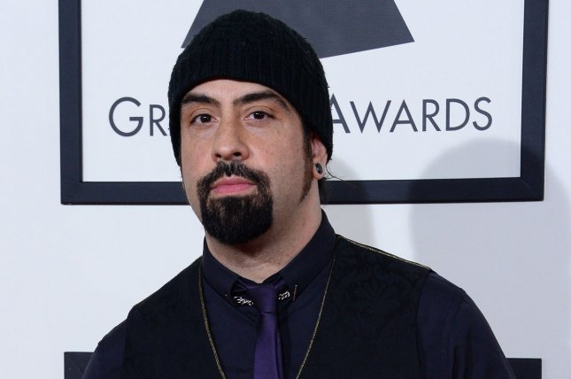 Rob Caggiano of Volbeat. The band will start touring North America in April. File Photo by Jim Ruymen/UPI