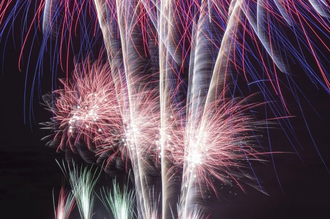 A Nashville Metro Police Department SWAT team was inside a blast zone when the city's fireworks display began. File photo by Bob Strong/UPI