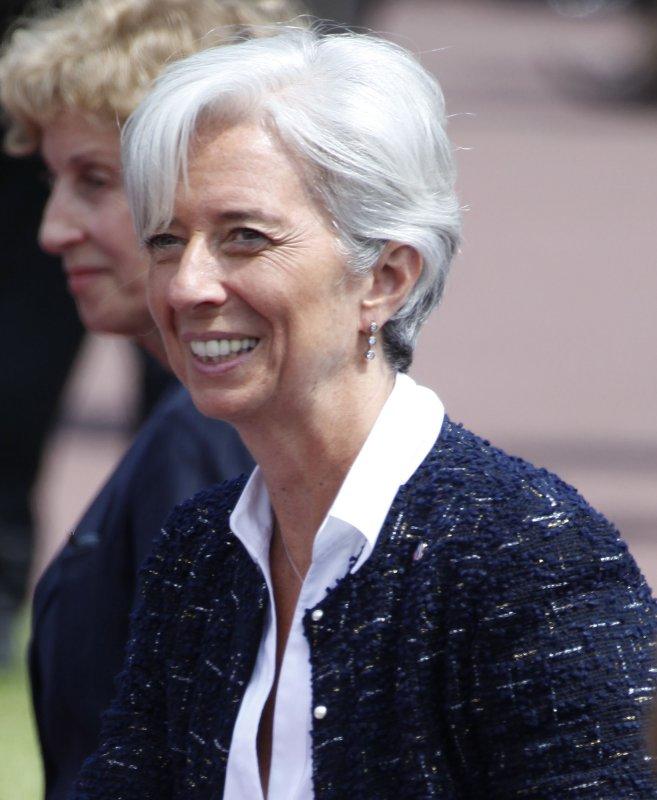 French Finance Minister Christine Lagarde. (UPI Photo/ David Silpa)