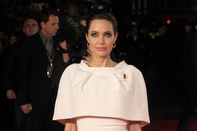 American actress Angelina Jolie was involved in a car crash Sunday following a screening of her new film Unbroken in Beverly Hills. UPI/Paul Treadway