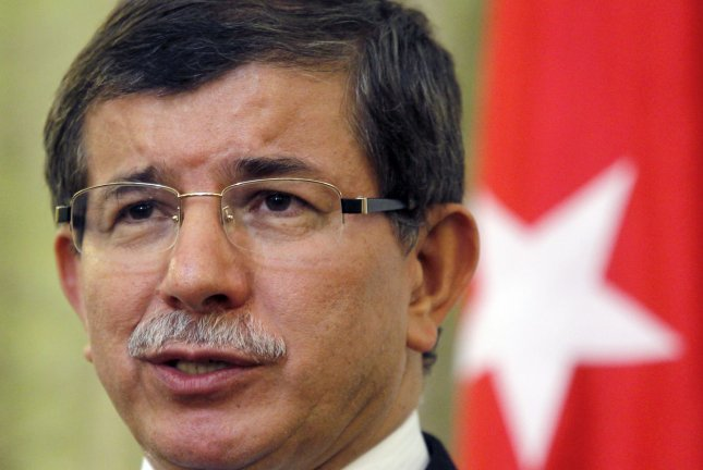 Turkish Prime Minister Ahmet Davutoglu confirmed Monday that investigators believe the Islamic State carried out a twin suicide bombing attack on Saturday Saturday. File photo by Maryam Rahmanian/UPI
