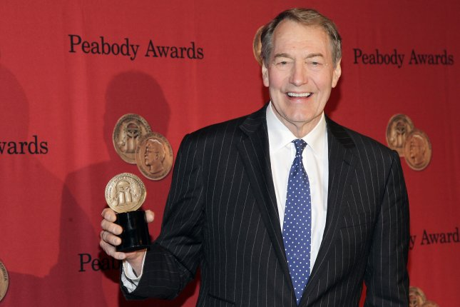 CBS and PBS suspended Charlie Rose Monday after several women came forward to accuse him of sexual harassment. File Photo by John Angelillo/UPI