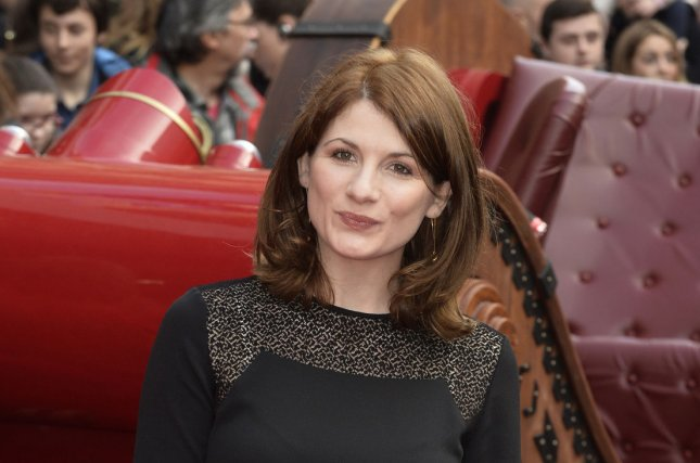 A new teaser suggests, It's about time, a woman play the lead character in Doctor Who as actress Jodie Whittaker is seen standing beneath a shattering glass ceiling. File Photo by Paul Treadway/UPI