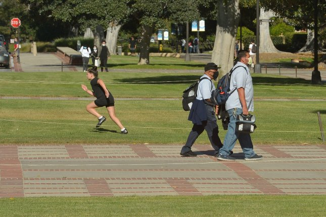 Universities will have to choose between keeping their international students enrolled and protecting the health and safety of their campuses, attorneys general said in filing their complaint. File Photo by Jim Ruymen/UPI