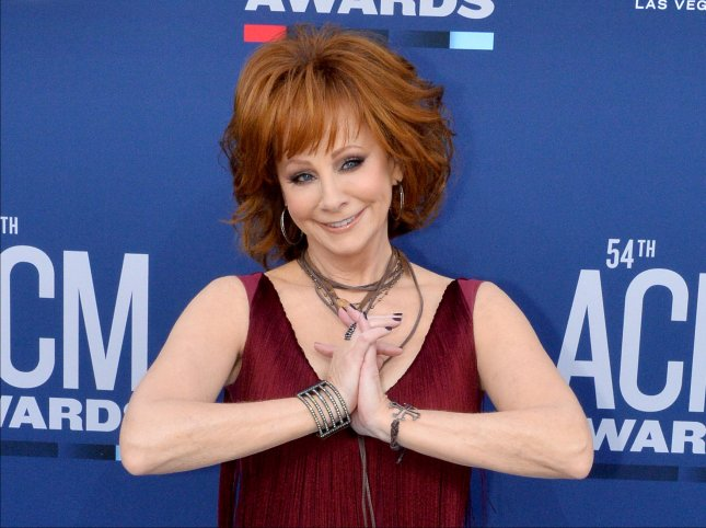 Reba McEntire is set to co-host the CMA Awards with Darius Rucker in Nashville this fall. File Photo by Jim Ruymen/UPI