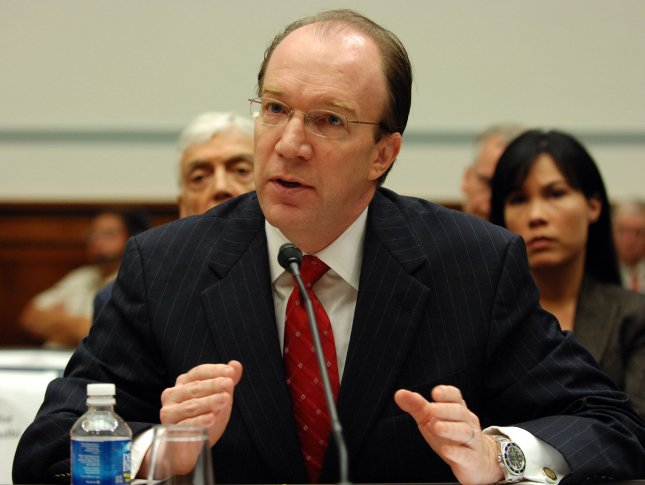 Stuart Bowen, special inspector general for Iraq Reconstruction, appears before a House Oversight and Government Reform Committee hearing on corruption in the Iraqi government on Capitol Hill in Washington on October 4, 2007. (UPI Photo/Roger L. Wollenberg)