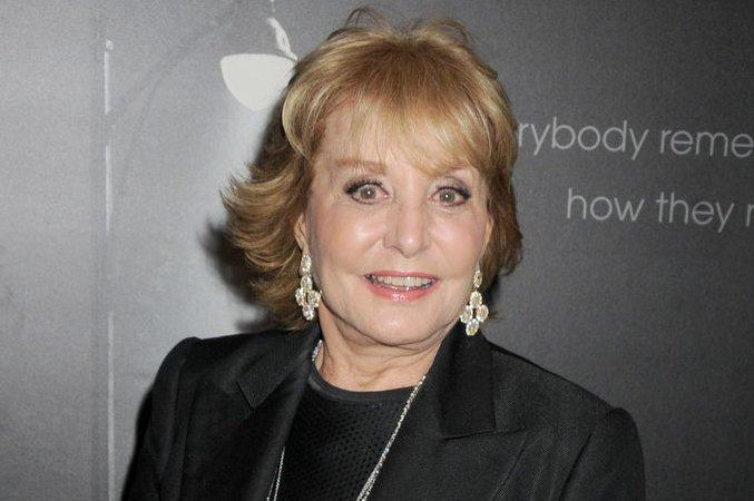 Barbara Walters. UPI/Dennis Van Tine