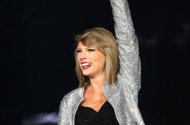 American singer-songwriter Taylor Swift performs during the 30th bi-annual Rock in Rio music festival at the MGM Grand in Las Vegas, Nevada on May 15, 2015. File Photo by James Atoa/UPI
