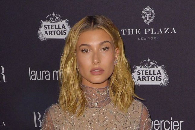 Hailey Baldwin at the Harper's Bazaar Icons party on September 9. The model recently said she doesn't see the appeal of the Taylor Swift squad. File Photo by Andrea Hanks/UPI