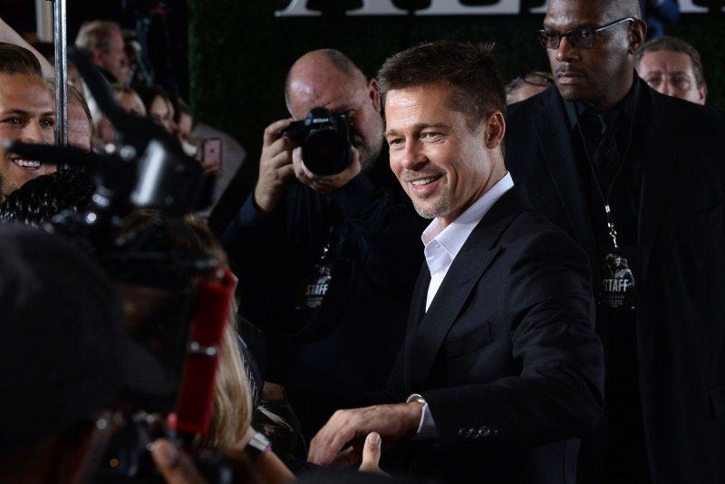 Brad Pitt attends the Los Angeles premiere of Allied last November. File Photo by Jim Ruymen/UPI