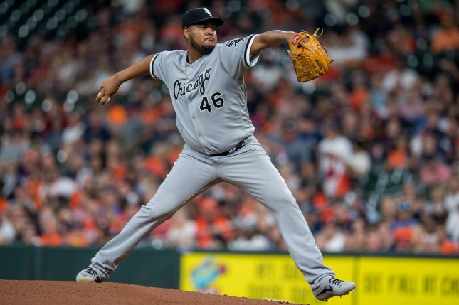 Former Chicago White Sox pitcher Ivan Nova had 34 starts in 2019, tied for the most in Major League Baseball. File Photo by Trask Smith/UPI