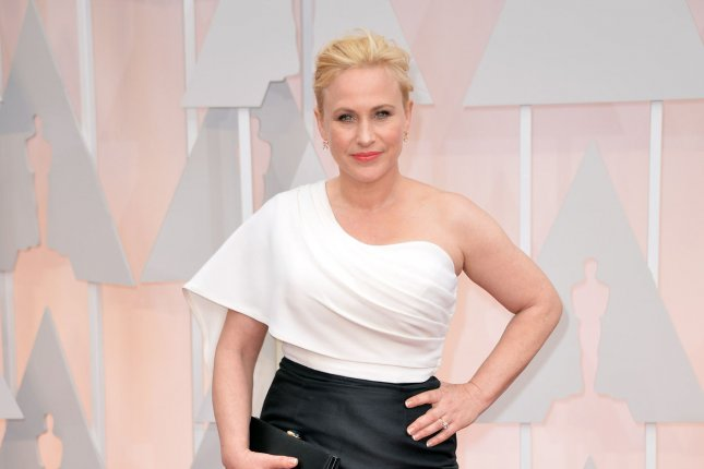 Patricia Arquette arrives on the red carpet at the 87th Academy Awards at the Hollywood & Highland Center in Los Angeles on February 22, 2015. Photo by Kevin Dietsch/UPI