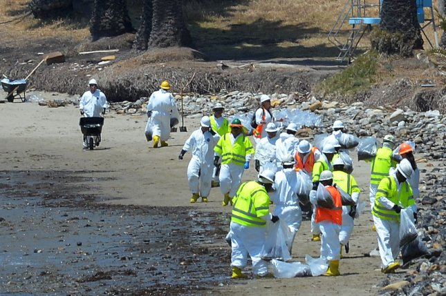 House leaders want answers from Plains All American and federal safety regulators in the wake of the May oil spill off the coast of California. File Photo by Jim Ruymen/UPI