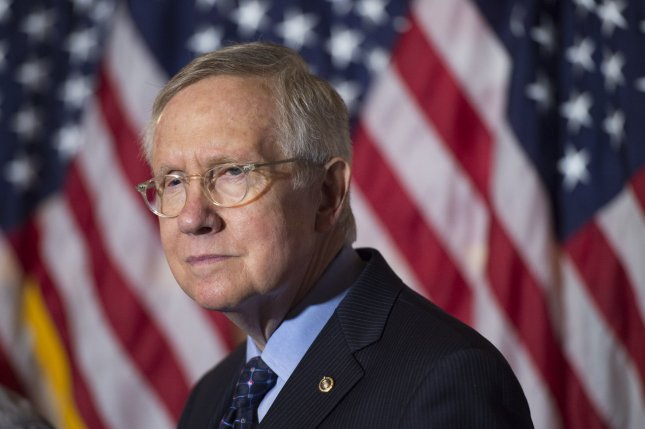 During a speech Tuesday on the Senate floor, Minority Leader Harry Reid pleaded with President-elect Donald Trump to revoke his controversial appointment of Steve Bannon to the post of White House chief strategist and senior counsel. Bannon's assignment has been heavily criticized by Democrats and some Republicans due to claims by opponents that the former Breitbart News chief is a supporter of white supremacy and anti-Semitism. File Photo by Kevin Dietsch/UPI
