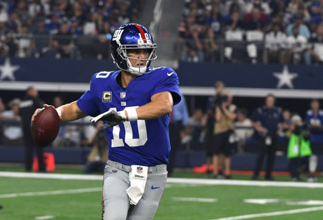 Lions First Look: Giants Open As 5-Point Favorites