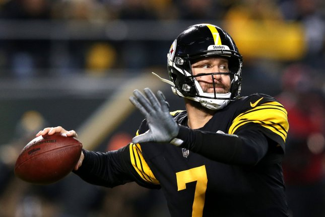 Ben Roethlisberger and the Pittsburgh Steelers take on the New Orleans Saints on Sunday. Photo by Aaron Josefczyk/UPI