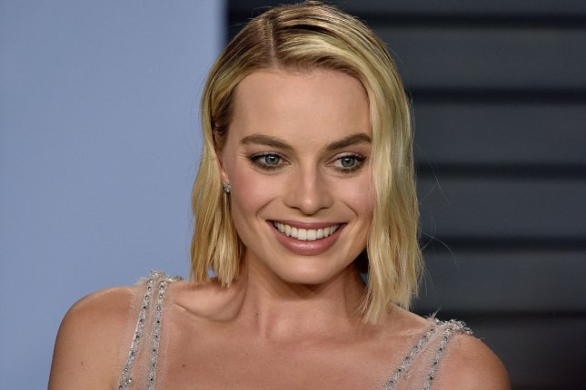 Margot Robbie will produce and star in a Barbie film from Warner Bros. and Mattel. File Photo by Christine Chew/UPI