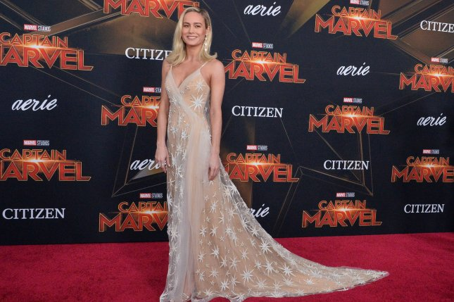 Cast member Brie Larson attends the premiere of Captain Marvel in Los Angeles on March 4. Photo by Jim Ruymen/UPI