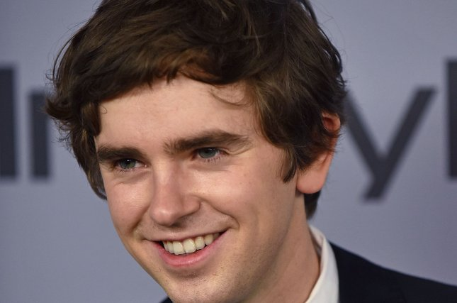 Freddie Highmore, who plays Dr. Shaun Murphy on The Good Doctor, confirmed he married a wonderful woman. File Photo by Christine Chew/UPI