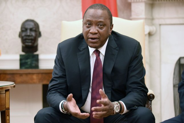 The civil war in Ethiopia is expected to warrant some attention from both leaders at the meeting. Kenyatta, pictured, has called for a political solution and dialogue between Ethiopian leaders and Tigray rebels.File Photo by Olivier Douliery/UPI