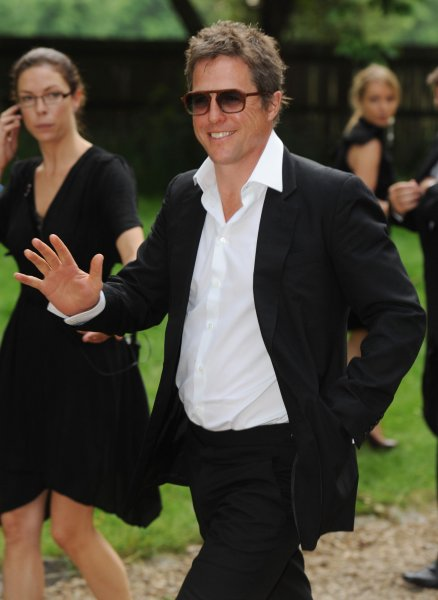 Hugh Grant has become a first-time father at the age of 51. UPI/Rune Hellestad