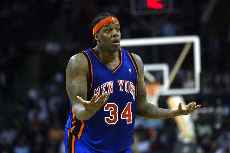 New York Knicks center Eddy Curry