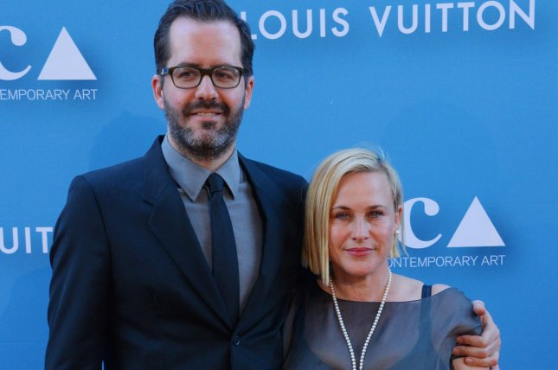 Actress Patricia Arquette and her boyfriend, artist Eric White. Photo by Jim Ruymen/UPI