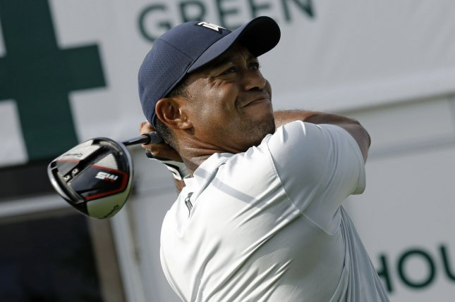 Tiger Woods expects to return to play in a PGA Tour event in Japan this fall. Photo by Peter Foley/UPI