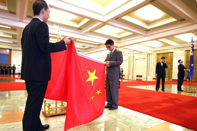 China's economic planning agency said it is to 'indefinitely' forgo all activities of the China-Australia Strategic Economic Dialogue. File Photo by Stephen Shaver/UPI