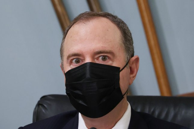 House Intelligence Committee Chairman Adam Schiff, D-Calif., has called for an investigation after it was revealed that the Trump administration seized his metadata. Photo by Tasos Katopodis/UPI