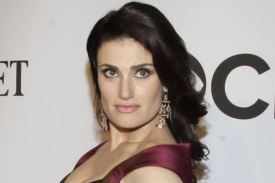 Idina Menzel arrives on the red carpet at the 68th Tony Awards at Radio City Music Hall in New York City on June 8, 2014. The annual awards, which are presented by the American Theatre Wing, recognizes the achievements of Broadway theater. UPI/John Angelillo.