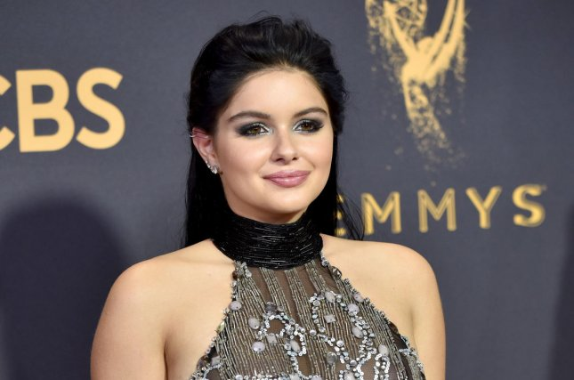 Ariel Winter attends the Primetime Emmy Awards on September 17. The actress' estranged mom, Crystal Workman, spoke out on Inside Edition after Winter claimed Workman sexualized her appearance from a young age. File Photo by Christine Chew/UPI