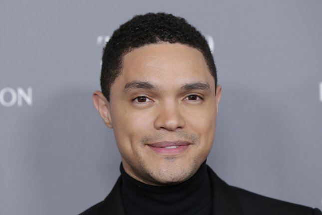 Trevor Noah will host a version of The Daily Show from his home, starting Monday. File Photo by John Angelillo/UPI