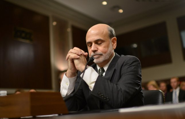 Federal Reserve Board Chairman Ben Bernanke testifies on the Board's Semiannual Monetary Policy Report to Congress during a Senate Banking, Housing and Urban Affairs Committee hearing on Capitol Hill on July 17, 2012 in Washington, D.C. UPI/Kevin Dietsch
