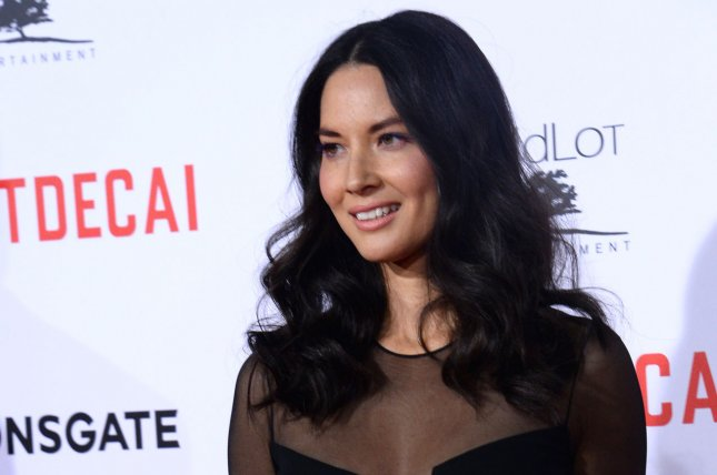 Olivia Munn attends the premiere of the motion picture comedy Mortdecai at the TCL Chinese Theatre in Los Angeles on Jan. 21, 2015. Jim Ruymen/UPI