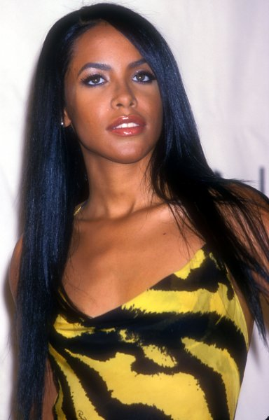 Aaliyah attends the MTV Video Music Awards on September 7, 2000. The singer is the inspiration behind a new M.A.C. Cosmetics line. File Photo by Laura Cavanaugh/UPI