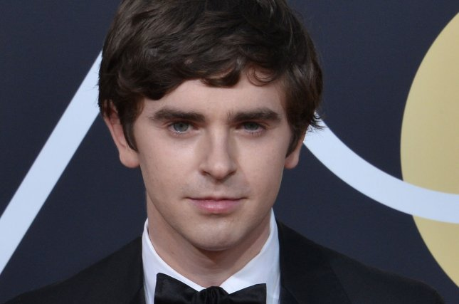 Freddie Highmore attends the 75th annual Golden Globe Awards at the Beverly Hilton Hotel in Beverly Hills, Calif., on January 7. The actor turns 26 on February 14. File Photo by Jim Ruymen/UPI