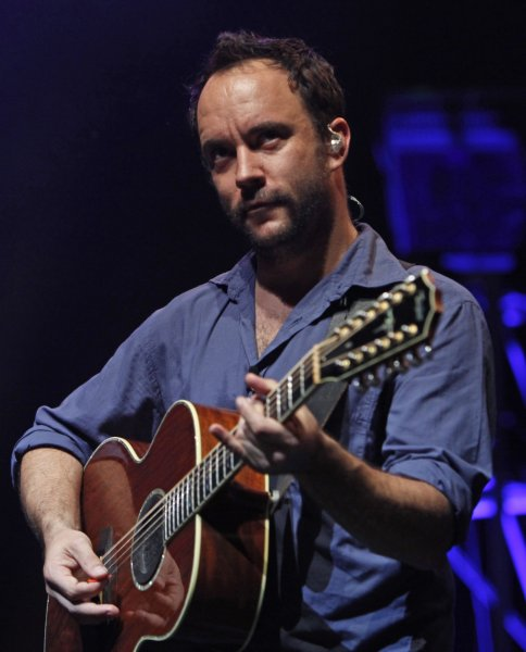 Singer Dave Matthews performs in concert at Olympia Hall in Paris on July 1, 2009. (UPI Photo/David Silpa)