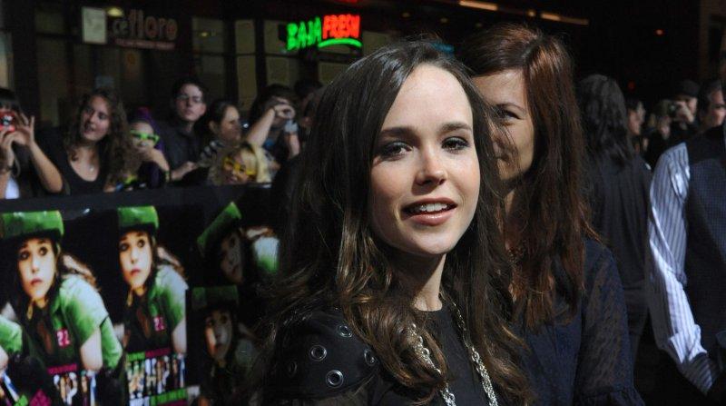 Ellen Page in Los Angeles in 2009. UPI/Jim Ruymen.
