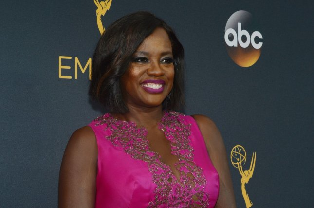 Actress Viola Davis arrives for the 68th annual Primetime Emmy Awards in Los Angeles on September 18, 2016. Davis is to be a presenter at the Golden Globe Awards ceremony Sunday. File Photo by Christine Chew/UPI