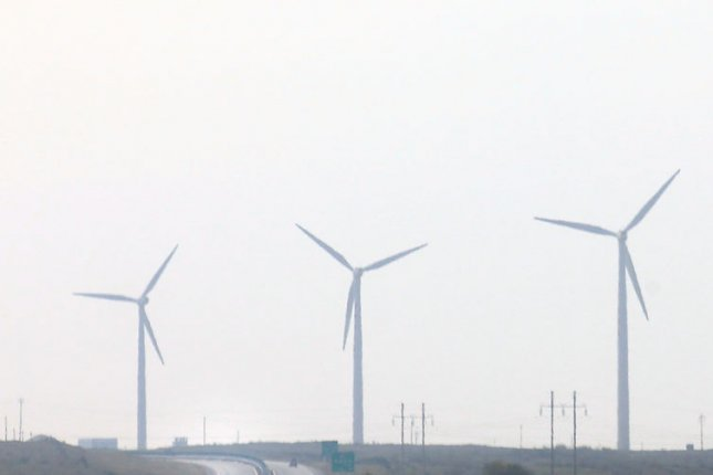 Oklahoma panhandle will host the second-largest wind farm in the world, an announcement coming four months after support for tax credits for the industry ended. File photo by Stephen Shaver/UPI